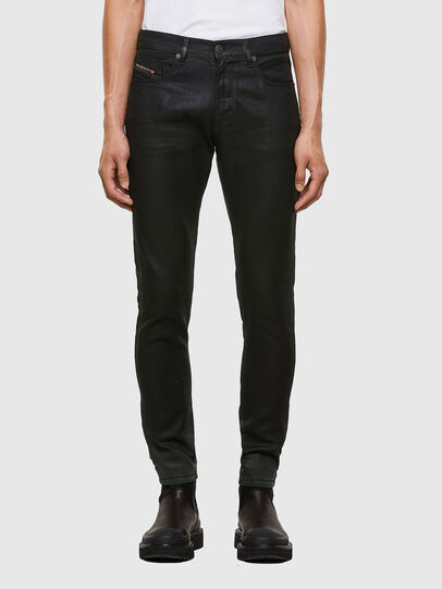 Diesel - D-Strukt JoggJeans® 069QX, Black/Green - Jeans - Image 1