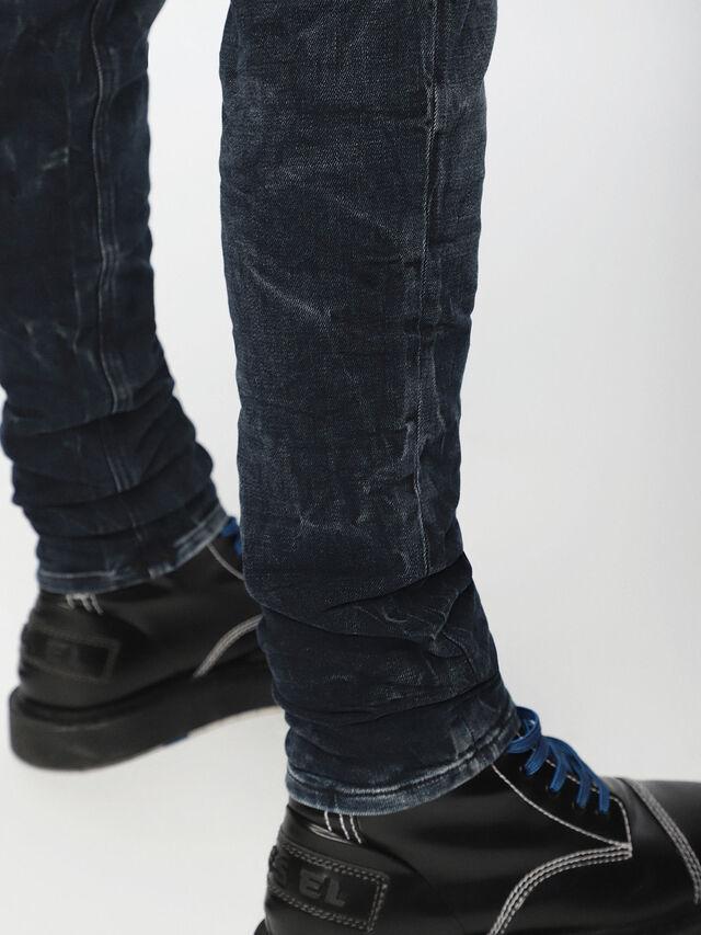 Diesel - Sleenker 084VR, Black/Dark grey - Jeans - Image 5