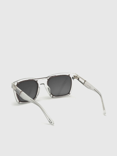 Diesel - DL0250, White - Sunglasses - Image 2