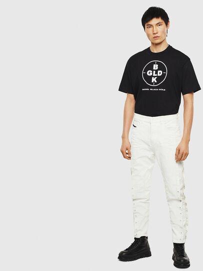 Diesel - TEORIALE-B, Black - T-Shirts - Image 5