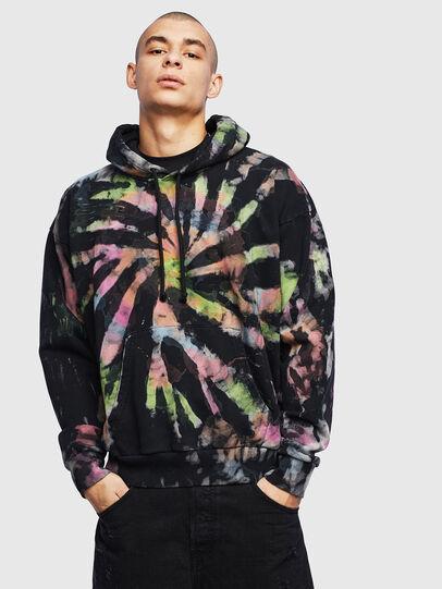 Diesel - S-ALBY-S1, Black - Sweaters - Image 1