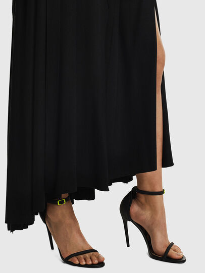 Diesel - D-AQUARZ, Black - Dresses - Image 5