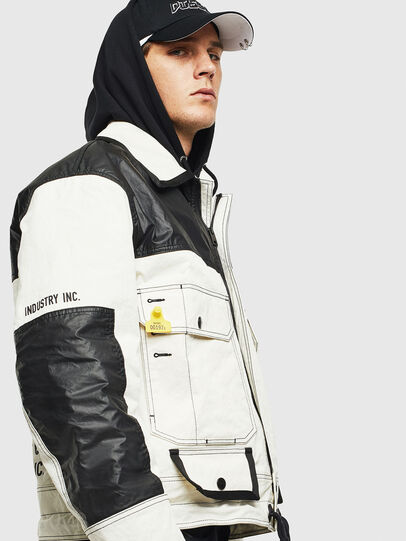 Diesel - J-KENDY, White/Black - Jackets - Image 7