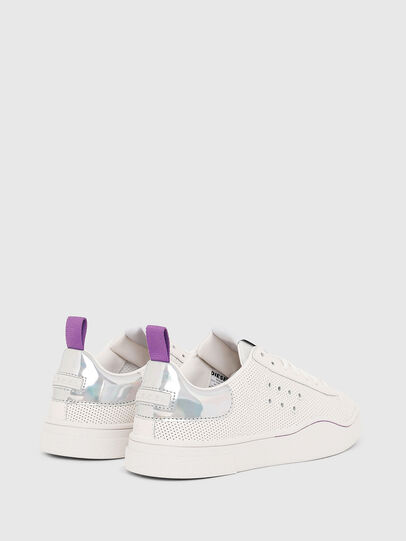 Diesel - S-CLEVER LC W, White/Pink - Sneakers - Image 3