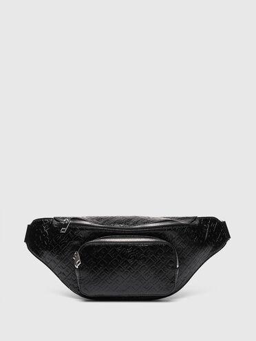 Large logo-debossed belt bag