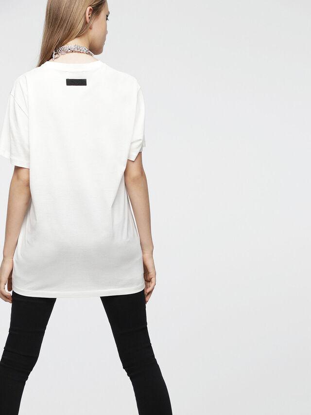Diesel - T-DARIA-C, White - T-Shirts - Image 2