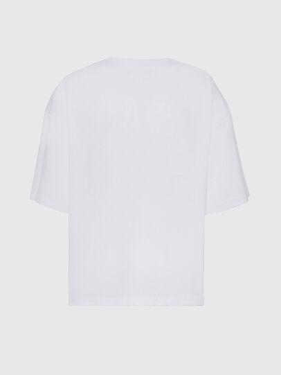 Diesel - T-RASSEL, White - T-Shirts - Image 2