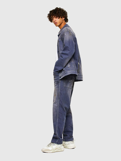Diesel - D-ANTONY-SP, Medium blue - Denim Jackets - Image 7