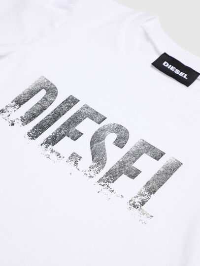 Diesel - TRALLYB-R, White - T-shirts and Tops - Image 3