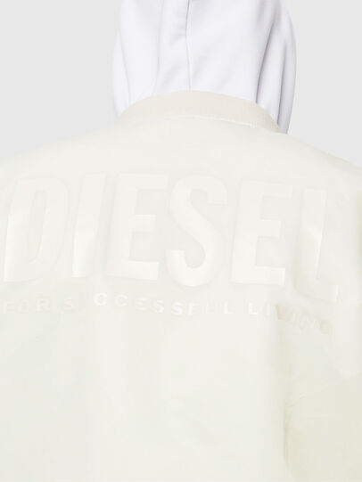 Diesel - J-ROSS-REV, White - Jackets - Image 7