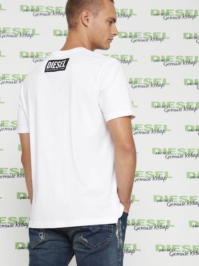 Diesel MU-T-BALD, White - T-Shirts - Image 3