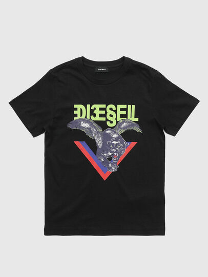 Diesel - TDIEGOA4, Black - T-shirts and Tops - Image 1