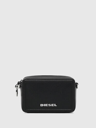 Boxy cross-body in leather
