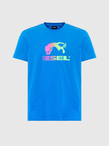 T-shirt with gradient print