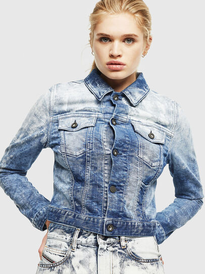 Diesel - D-LIMMY-T, Medium blue - Denim Jackets - Image 1