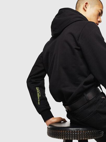 Diesel - S-GIRK-HOOD-J5, Black - Sweaters - Image 3