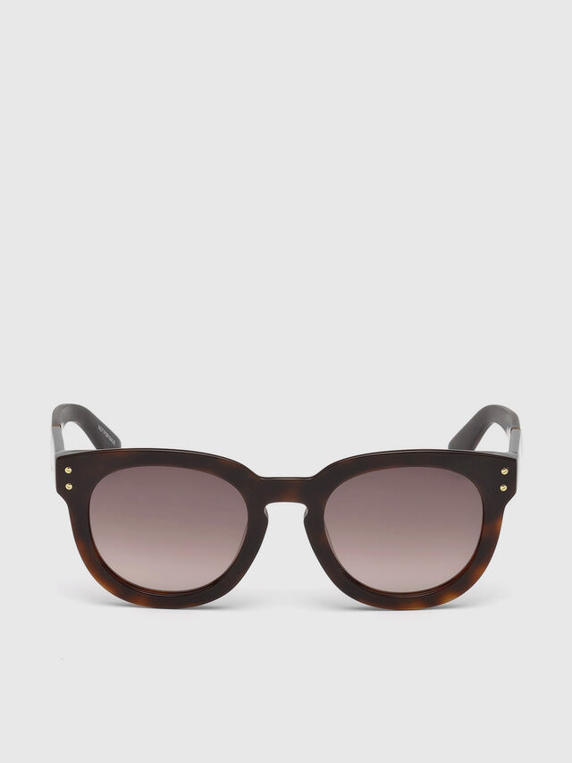 Diesel DL0230, Brown/Black - Eyewear - Image 1