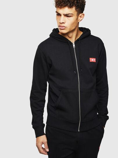Diesel - UMLT-BRANDON-Z, Black - Sweaters - Image 1