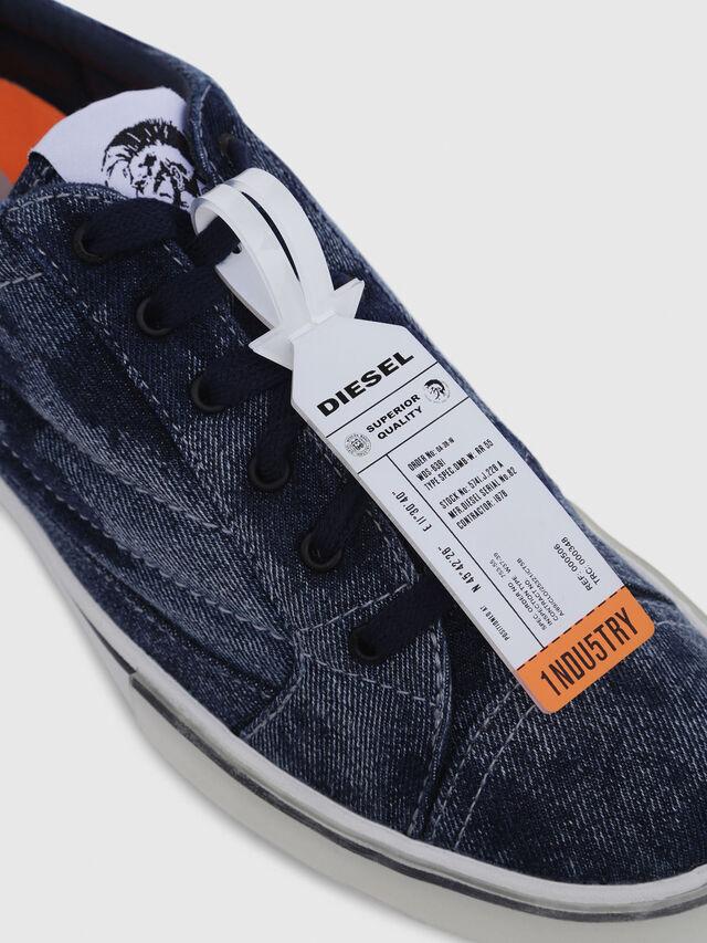 Diesel - D-VELOWS LOW PATCH, Blue Jeans - Sneakers - Image 5
