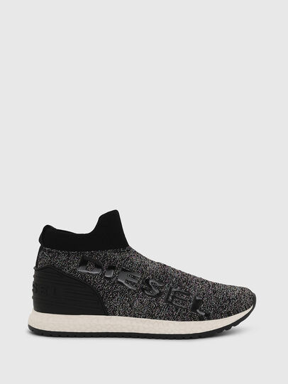 Diesel - SLIP ON 03 LOW SOCK, Black - Footwear - Image 1