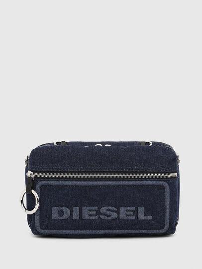 Diesel - FUTURAH, Blue - Crossbody Bags - Image 1