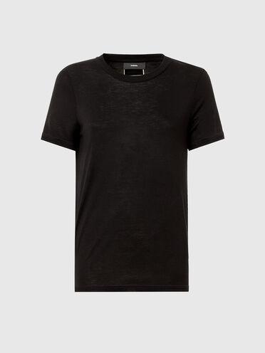T-shirt in bamboo viscose