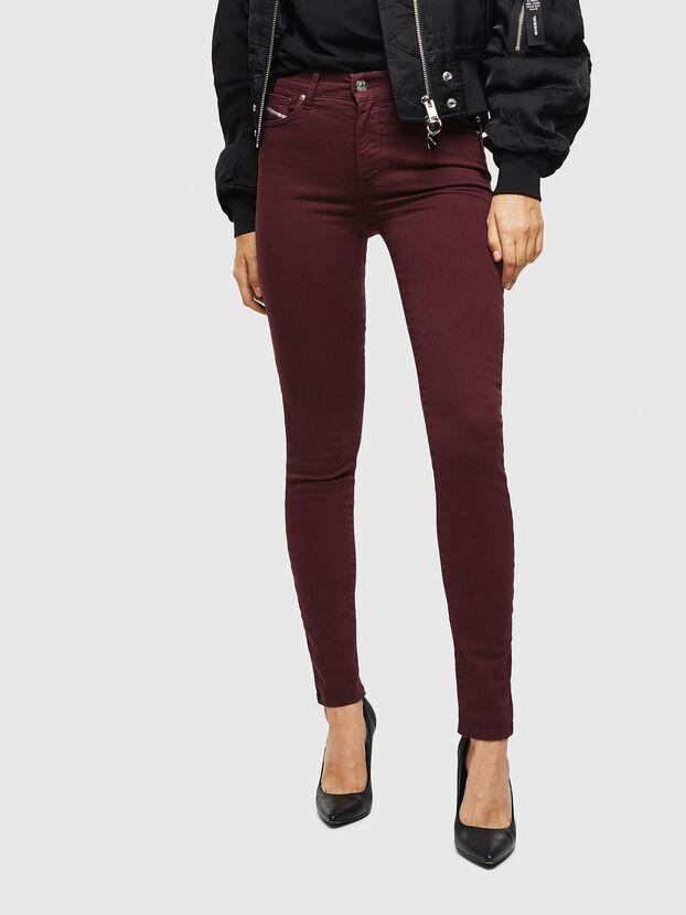 D-Roisin 0096H, Bordeaux - Jeans