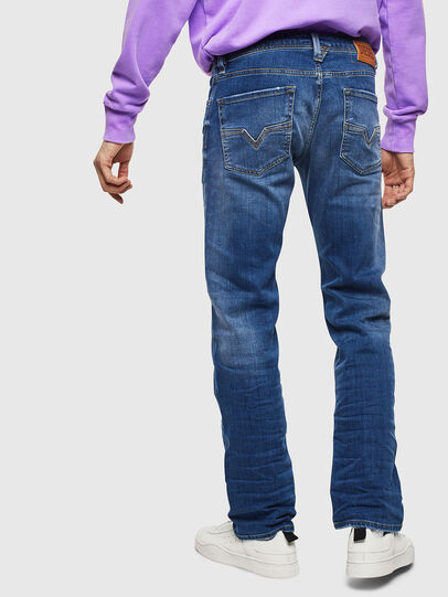 Diesel - Larkee 0097X, Medium blue - Jeans - Image 2