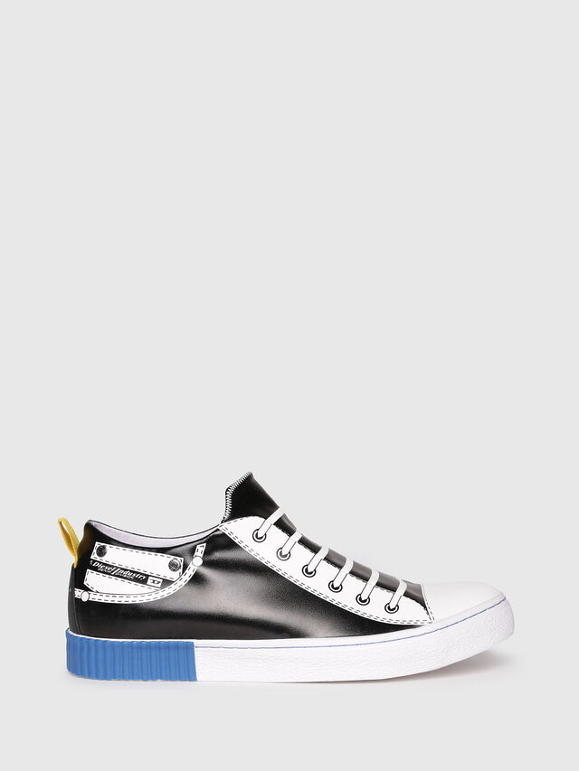 Diesel - S-DIESEL IMAGINEE LOW, Black/White - Sneakers - Image 1