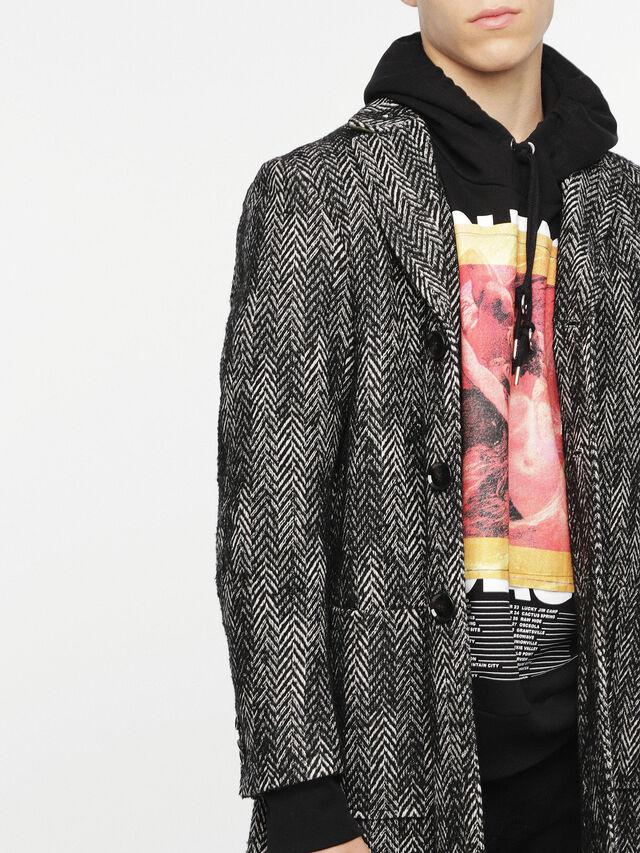 Diesel - W-DEXT, Black Melange - Winter Jackets - Image 5