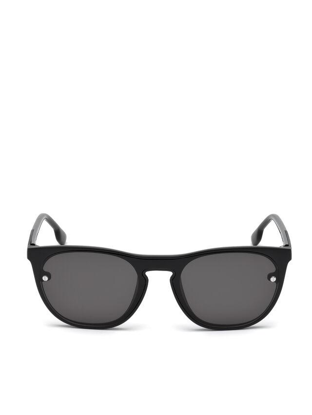Diesel - DL0217, Black - Sunglasses - Image 1