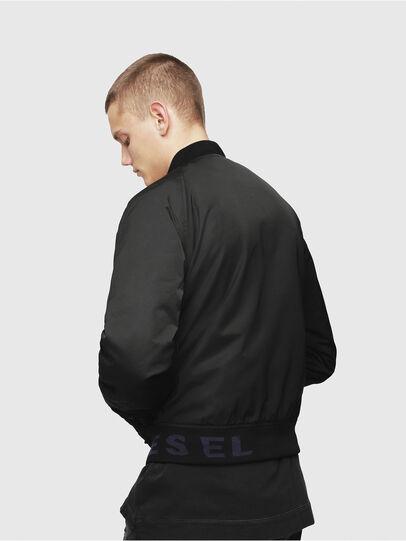 Diesel - J-SHOJI, Black - Jackets - Image 2