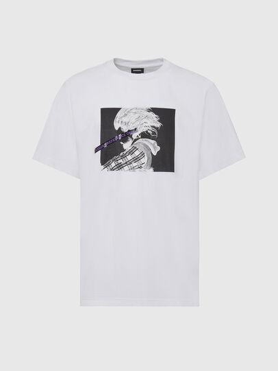 Diesel - T-TUBOLAR-X20, White - T-Shirts - Image 1