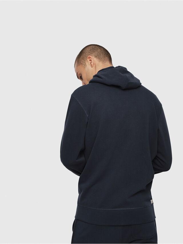 Diesel UMLT-BRANDON-Z, Blue Marine - Sweaters - Image 2