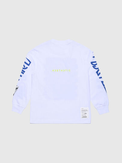 Diesel - TLUCASLSYBJ OVER, White - T-shirts and Tops - Image 2
