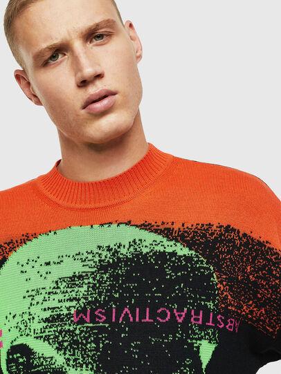 Diesel - K-MELTER, Multicolor/Black - Knitwear - Image 7