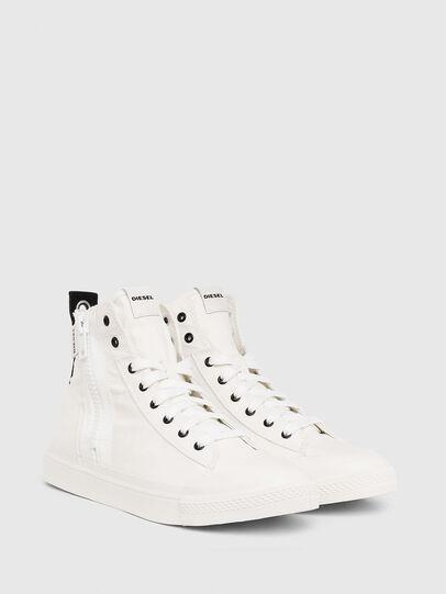 Diesel - S-ASTICO MID ZIP, White - Sneakers - Image 2