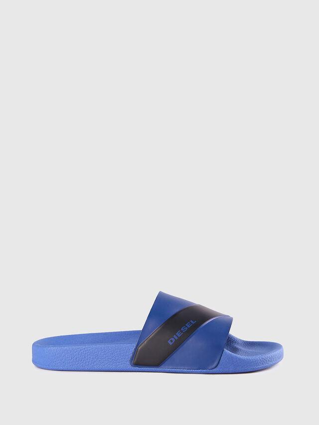 Diesel SA-MARAL, Blue - Slippers - Image 1