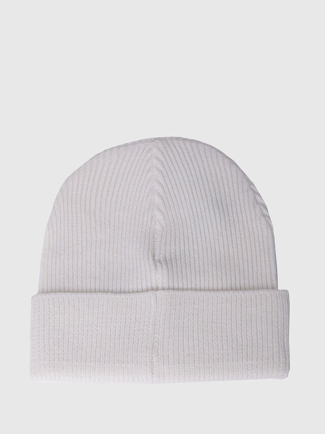 Diesel K-CODER, White - Caps, Hats and Gloves - Image 2