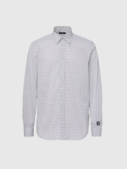 Diesel - S-RILEY-KA, White - Shirts - Image 1