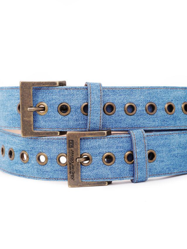 Diesel - SOBELT1, Blue Jeans - Belts - Image 3