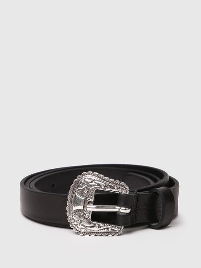 Diesel - B-TEXY, Black - Belts - Image 1