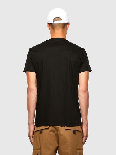 Diesel - T-ZITASK, Black - T-Shirts - Image 2