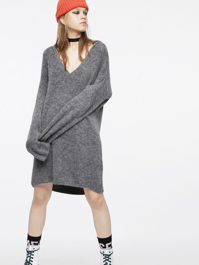 Diesel - M-SOFTY, Grey - Dresses - Image 6