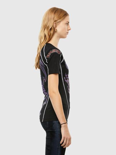 Diesel - T-TAJO, Black - T-Shirts - Image 3