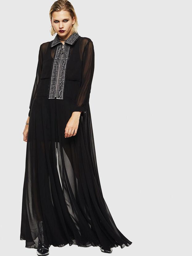 D-RAHAN-A, Black - Dresses