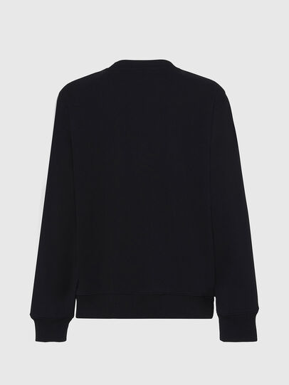 Diesel - F-ANG, Black/White - Sweaters - Image 2