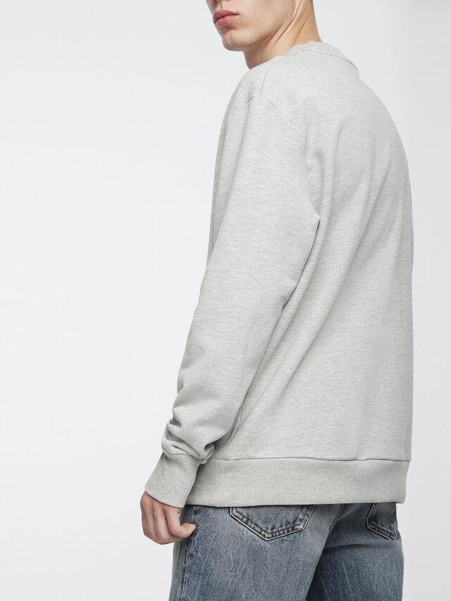 Diesel - S-ELLIS-XX, Light Grey - Sweaters - Image 2