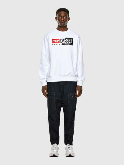 Diesel - S-GIRK-CUTY, White - Sweaters - Image 4