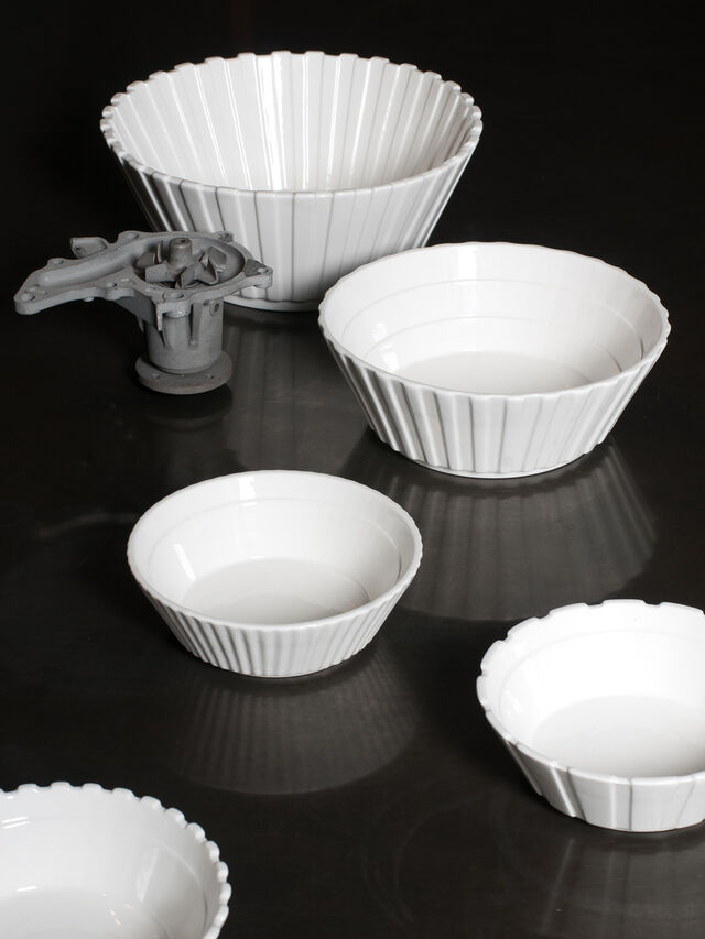 Living 10979 MACHINE COLLEC, White - Bowl - Image 4